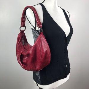 Hobo International | Red Leather Shoulder Bag